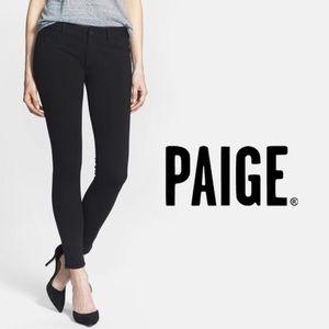 "PAIGE Mid Rise Skinny Stretch Ponte ""Peg"" Pant"